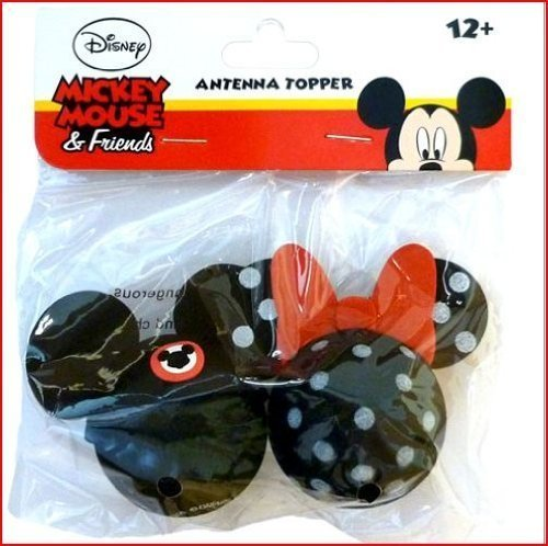 Mickey Mouse Club and Minnie Mouse Polkadot Antenna Toppers]()