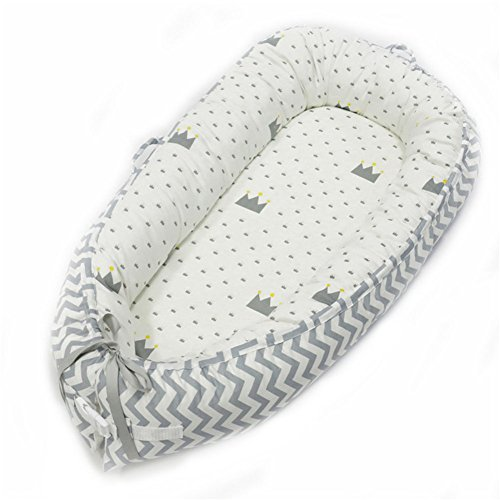 Double-sided Baby Nest for Newborn Baby Sleep Bed Portable Pod Nest(2050 8050cm)