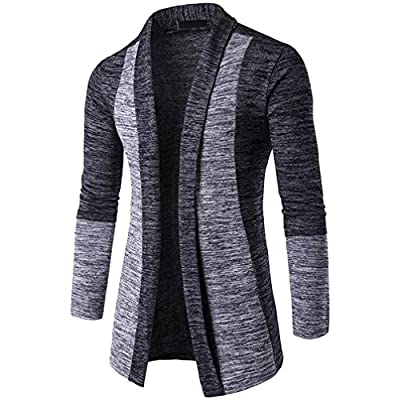 Coat Men, TurningPo Men Autumn Winter Sweater Cardigan Coat Knit Jacket Sweatshirt Knitwear