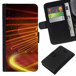 All Phone Most Case / Oferta Especial Cáscara Funda de cuero Monedero Cubierta de proteccion Caso / Wallet Case for Sony Xperia M2 // Digital galaxy