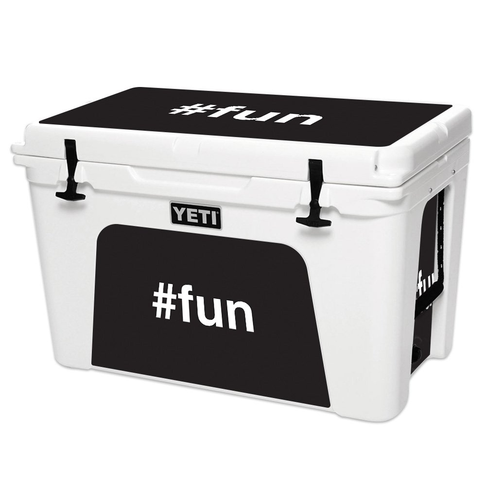 Skin for YETI Tundra 105 qt Cooler - Fun| MightySkins Protective, Durable, and Unique Vinyl Decal wrap cover | Easy To Apply, Remove, and Change Styles | Made in the USA