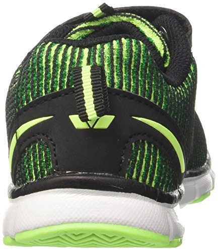 GEKA Multi Vs, Zapatillas Para Niños Verde (Gruen/schwarz Gruen/schwarz)
