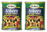 #4: Grace Ackees in Salt Water Cans, 19 Ounce (Pack of 2)