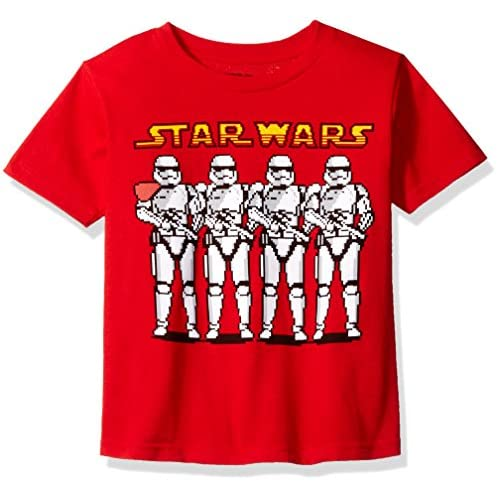 Star Wars Little Boys' Stormtroopers With Blasters T-Shirt get discount
