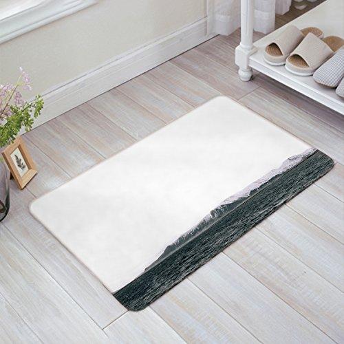 Women Trend Indoor Rubber Backing Non Slip Doormats Ocean Iceberg Island Door Mat Front Door Inside Floor Dirt Trapper Entrance Rugs Shoes Scraper Carpet 18