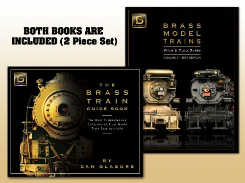 Brass Model Trains Price & Data Guide, Vol. 2, plus Deluxe Photo Book (Brass Model Trains compare prices)