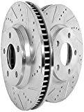 #1: Power Stop JBR1395XPR Front Evolution Drilled & Slotted Rotor Pair