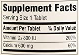 Caltrate Calcium & Vitamin D 600+D3, 120 Tablets
