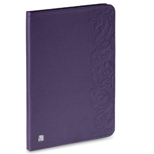 Verbatim Folio Expressions for iPad Air, Floral Purple 98527