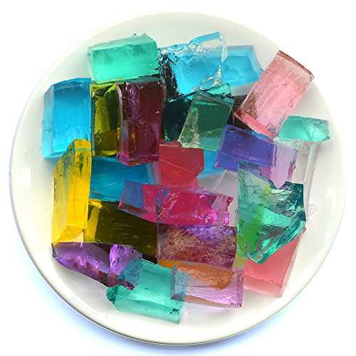 Cosmo Beads 280 Cubic Shape Super Absorbent Polymer Crystal Gel Grow In Water Sensory Fun For All Ages by Cosmo Beads