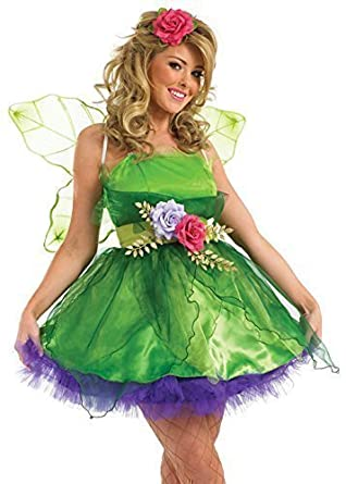 ladies fairy nymph pixie fancy dress halloween costume outfit uk 6 26 plus size amazoncouk toys games - Size 26 Halloween Costumes