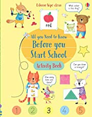 Wipe-Clean All You Need to Know Before You Start School Activity Book