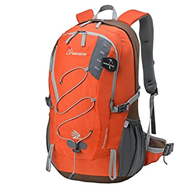Mountaintop 30L Questa Hiking Daypack (Orange)