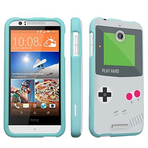 DuroCase ® HTC Desire 510 Hard Case Mint - (Gameboy Grey)
