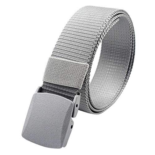 Euone Wallet Belt Hidden Pocket Cashsafe Anti-Theft Travel Security Money Belt (Silver)