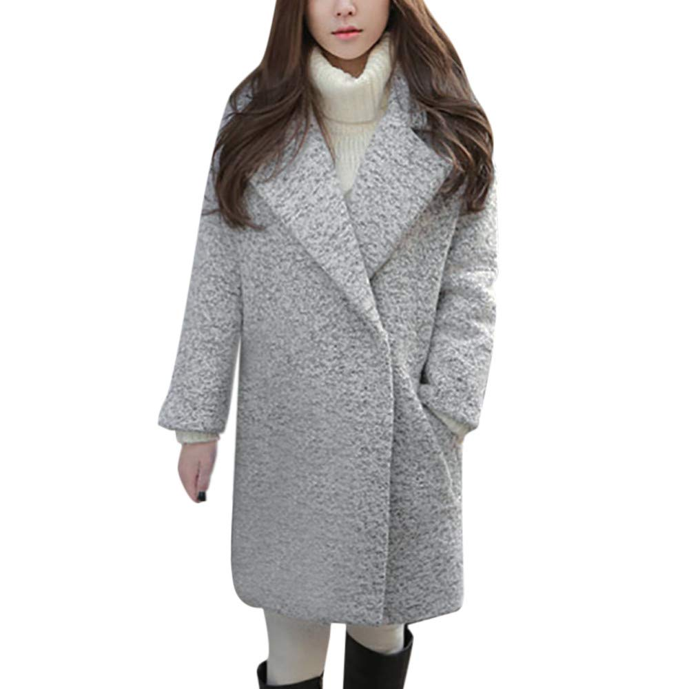Amazon.com: Womens Coats Winter Besde Womens Fashion Casual Warm Lightweight Outwear Imitation Lapel Warm Slim Jacket Long Coat: Sports & Outdoors