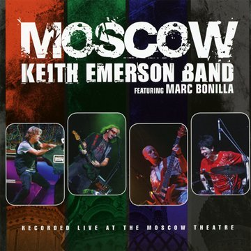 Keith Emerson - Moscow (Germany - Import, 2PC)