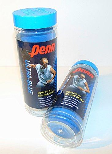 Blue Racquetballs Penn Ultra, Maximum visibility, Consistent playability, 3 per pack
