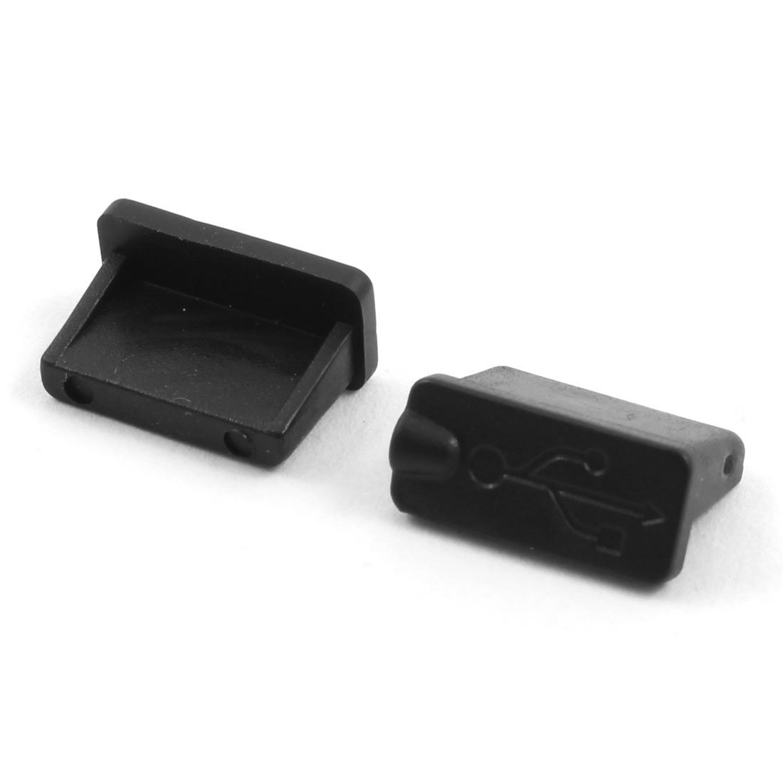Amazon.com: eDealMax USB tableta de goma Mujer Puerto Anti polvo Tapa Protector Negro 16 PCS: Electronics
