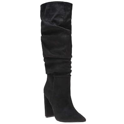 76180940b2e Steve Madden Slouch Boot Femme Boots  Amazon.fr  Chaussures et Sacs