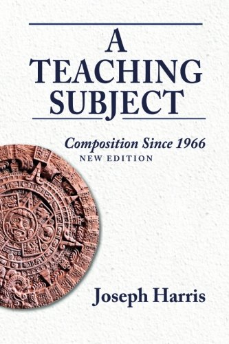 Teaching Subject: Composition Since 1966