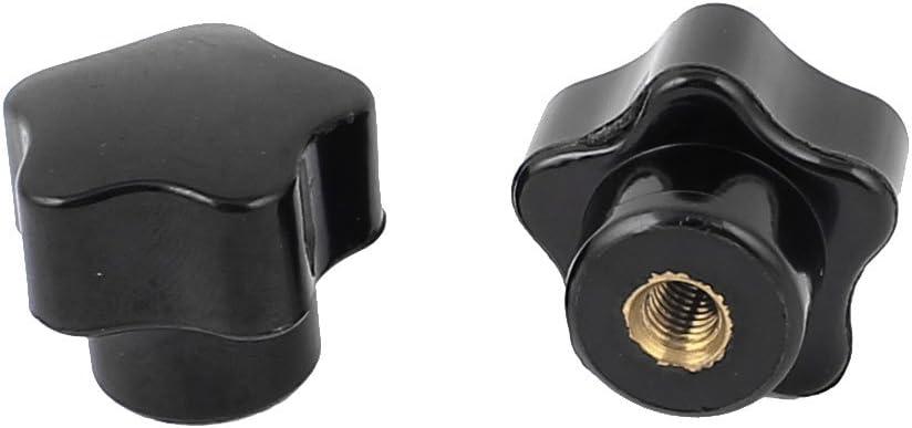 Molette femelle vis filetage intérieur 5mm écrou de serrage métal