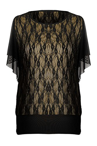 G2 Chic Women's Casual Solid Lace