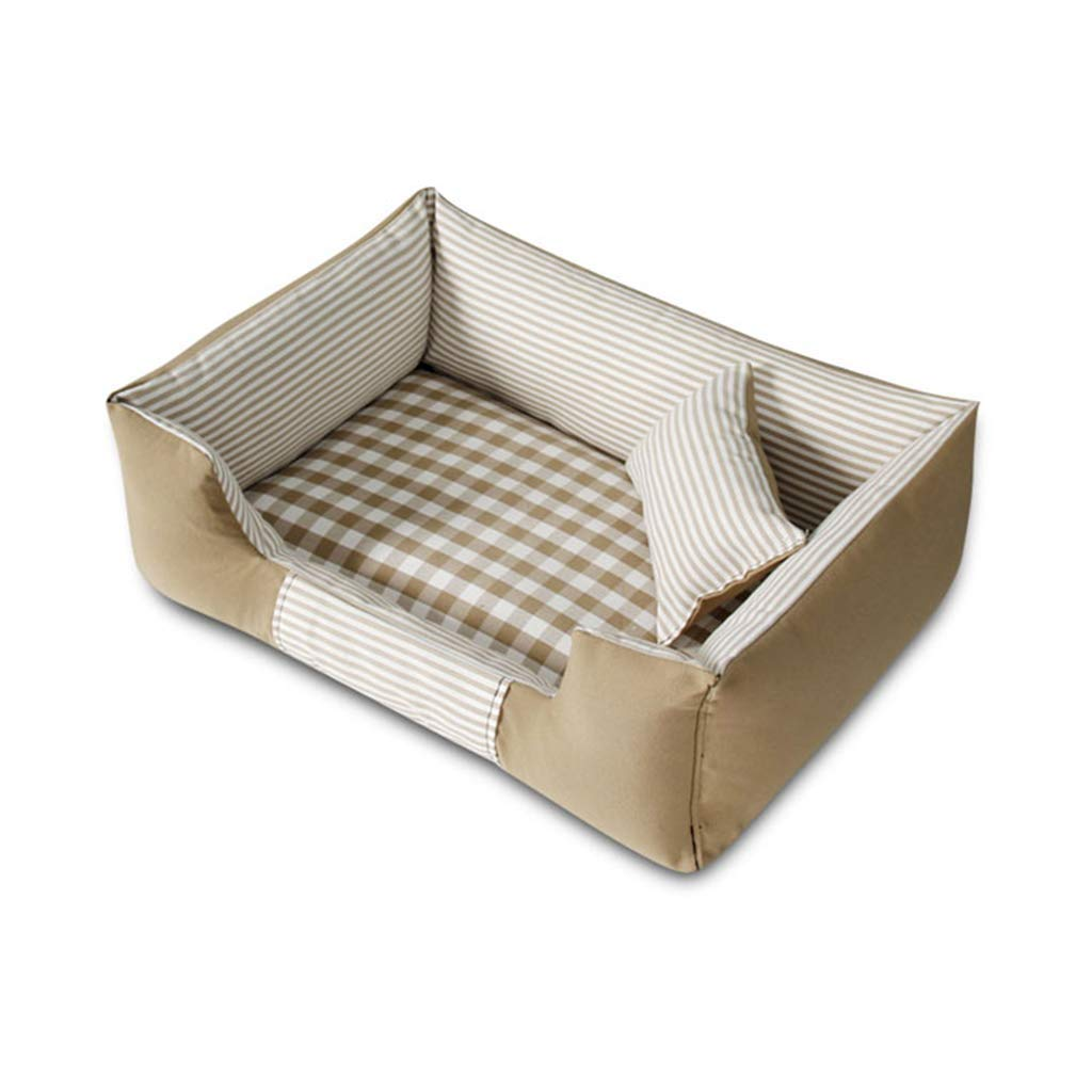 B X-Large B X-Large Pet Bed Soft Bed for Pets, High Elastic Cotton Padded Dog Bed Basket Suitable for Large Medium and Small Dogs (color   B, Size   X-Large)