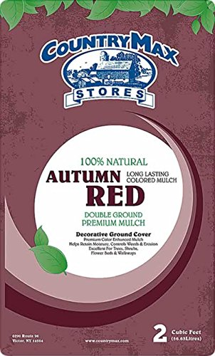 - CountryMax Autumn Red Premium Hardwood Mulch, 2 Cu. Ft.