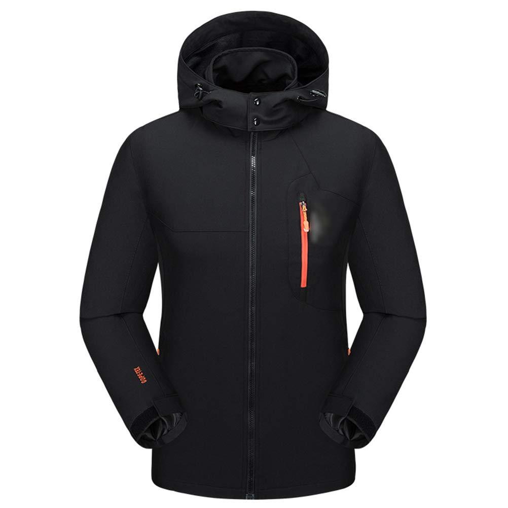 noir XXL SJZC Veste Coupe Homme Ski Manteau Hommes Blouson De Impermeable Vent Pas Cher Hivers Pluie SurveteHommest043