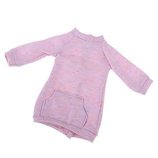 Baoblaze Cute Dress Up Toy Fai da Te per Doll Girl Scale 1/6 - Viola