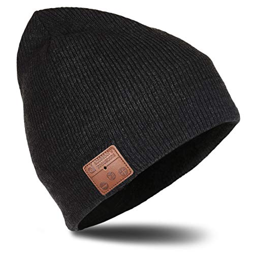 be4619ee1e2 Accessory Innovations Bluetooth Wireless Knit Beanie with Built-in Stereo  Speakers and Microphone