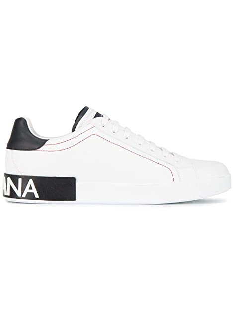 Dolce E Gabbana - Zapatillas para Hombre Blanco/Negro IT - Marke Größe, Color, Talla 41 IT - Marke Größe 41: Amazon.es: Zapatos y complementos
