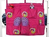 Gilbin End Of Bed Shoe Bag - Pink/Smiley