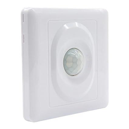 Interruptor de luz con sensor de movimiento automático de infrarrojos PIR AC 110-250V Lámpara