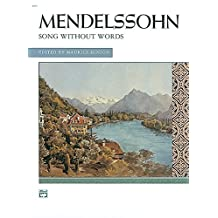 Mendelssohn - Songs without Words (Complete): Comb Bound Book