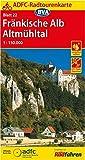 ADFC-Radtourenkarte 22 Fränkische Alb Altmühltal 1:150.000, reiß- und wetterfest, GPS-Tracks Download (ADFC-Radtourenkarte 1:150000)