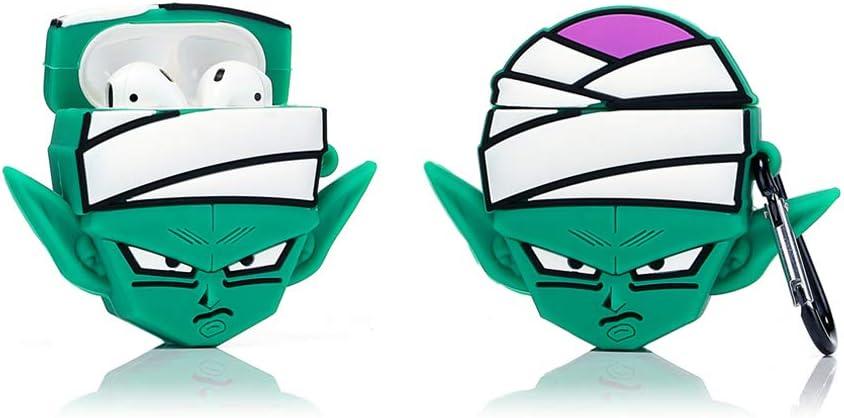 ZAHIUS Silicona Airpods Funda Divertida Compatible con Apple Airpods 1 y 2 Girl Boy Winnie Patr/ón de Dibujos Animados en 3D