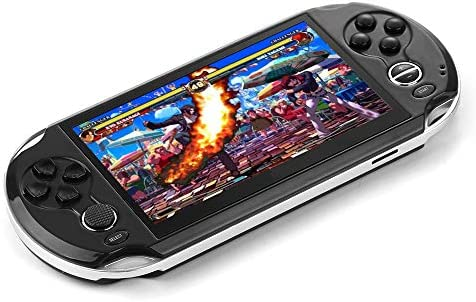 DREAMHAX Portable Video Games with 5 Inch Screen Free 10000 Games, Handheld  Game Console with 8GB + 32GB Storage, Classic Arcade Retro Games Player