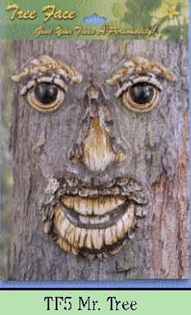 Mr. Face Tree Decoration (Tree Faces)