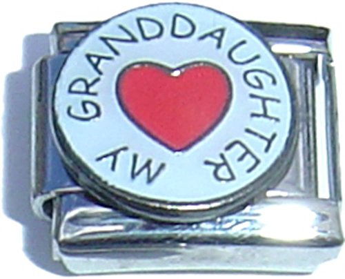 Love My Granddaughter Italian Charm