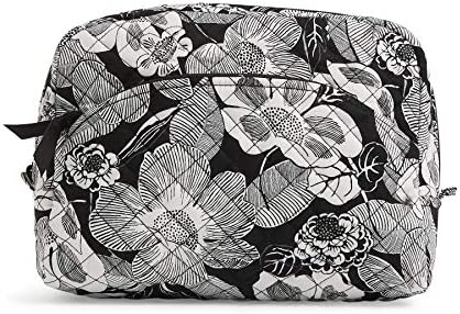 Vera Bradley Women's Signature Cotton Large Cosmetic Makeup Organizer Bag