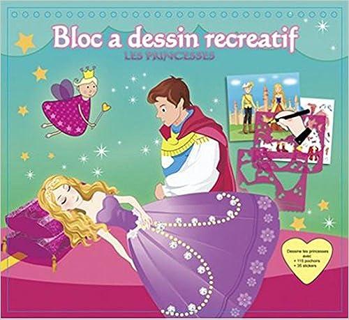 Livre gratuits en ligne Princesses bloc a dessin récréatif epub pdf
