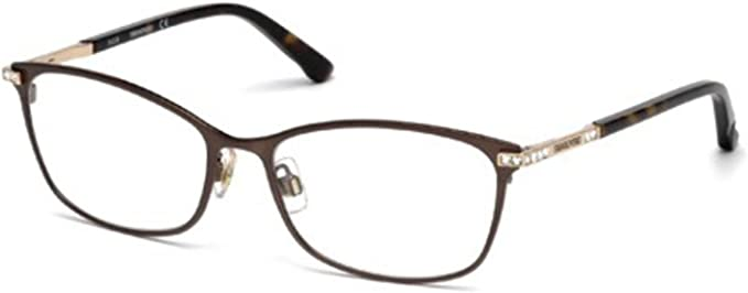 SWAROVSKI Eyeglasses SK5187 GOLDIE 049 Matte Dark Brown