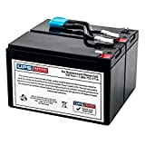 APC Battery Cartridge Replacement #142 (Replacement for APCRBC142) - Compatible Replacement by UPSBatteryCenter