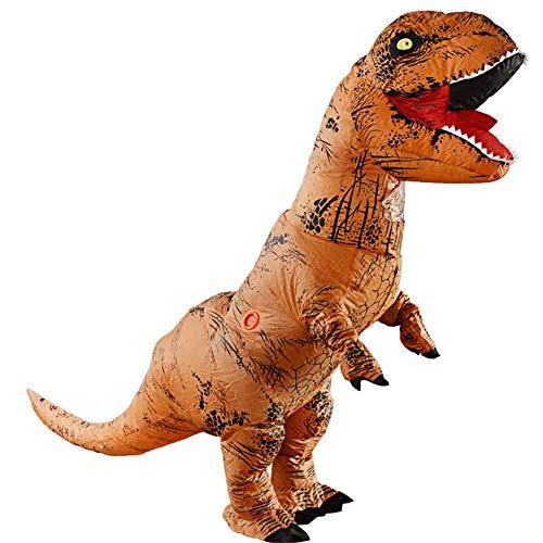 HXYL Adult Halloween Dress Up Dinosaur Costume, Halloween, Christmas, Masquerade, Prank -