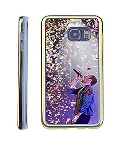 Coldplay Samsung Galaxy S6 Edge Plus Case Gold Vintage Design Super Star Hard Plastic Protector For Samsung Galaxy S6 Edge Plus Back Case Cover