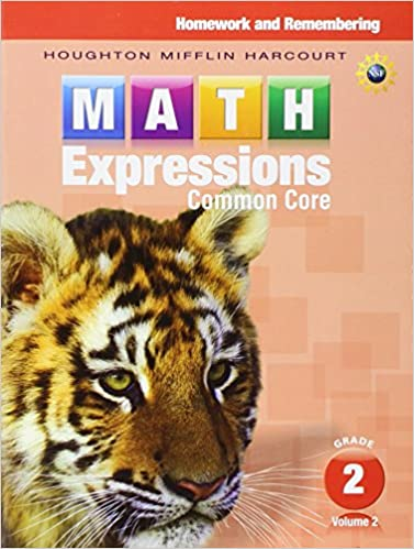 Math Worksheets houghton mifflin math worksheets grade 5 : Math Expressions: Homework & Remembering, Volume 2 Grade 2 ...