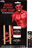 Potomac Banks No Smudge Body Paint (Demon) with Free Pack of Makeup