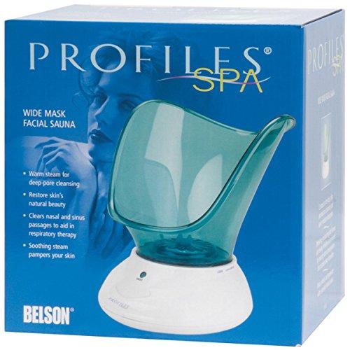 Belson Profiles Spa Wide Mask Facial Sauna P1143